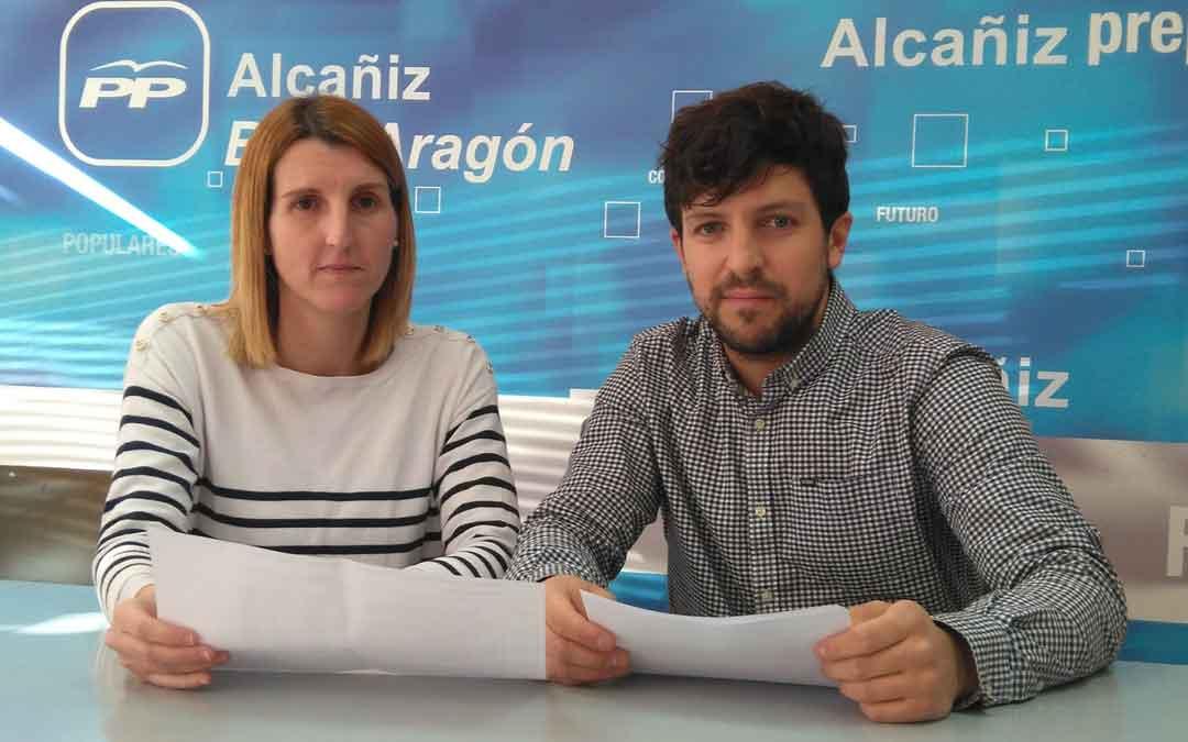 El PP votará a favor de las cuentas de Alcañiz al lograr 50.000€ más para caminos y la exención de las tasas de basuras y veladores