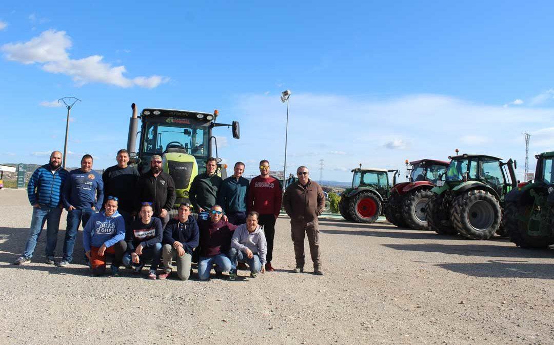 El campo protagoniza este martes una masiva tractorada en Zaragoza