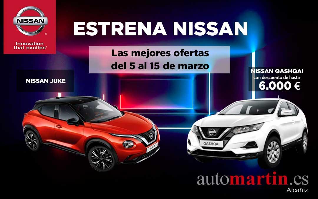 La oportunidad de cambiarte a Nissan llega con Auto Martín