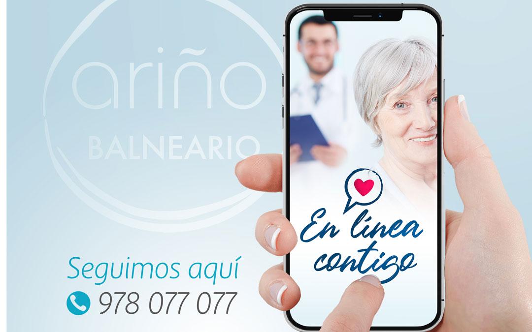 Imagen de la campaña 'En línea contigo'./LA COMARCA