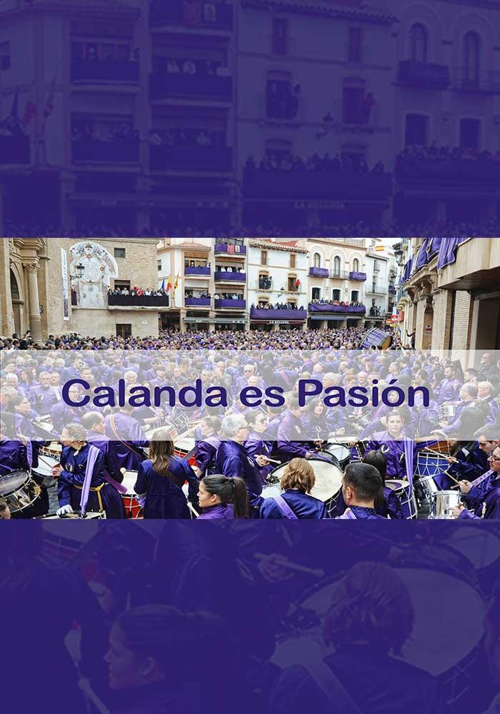 """APLAZADO. Presentación del audiovisual sobre la Semana Santa de Calanda """"CALANDA ES PASIÓN"""""""