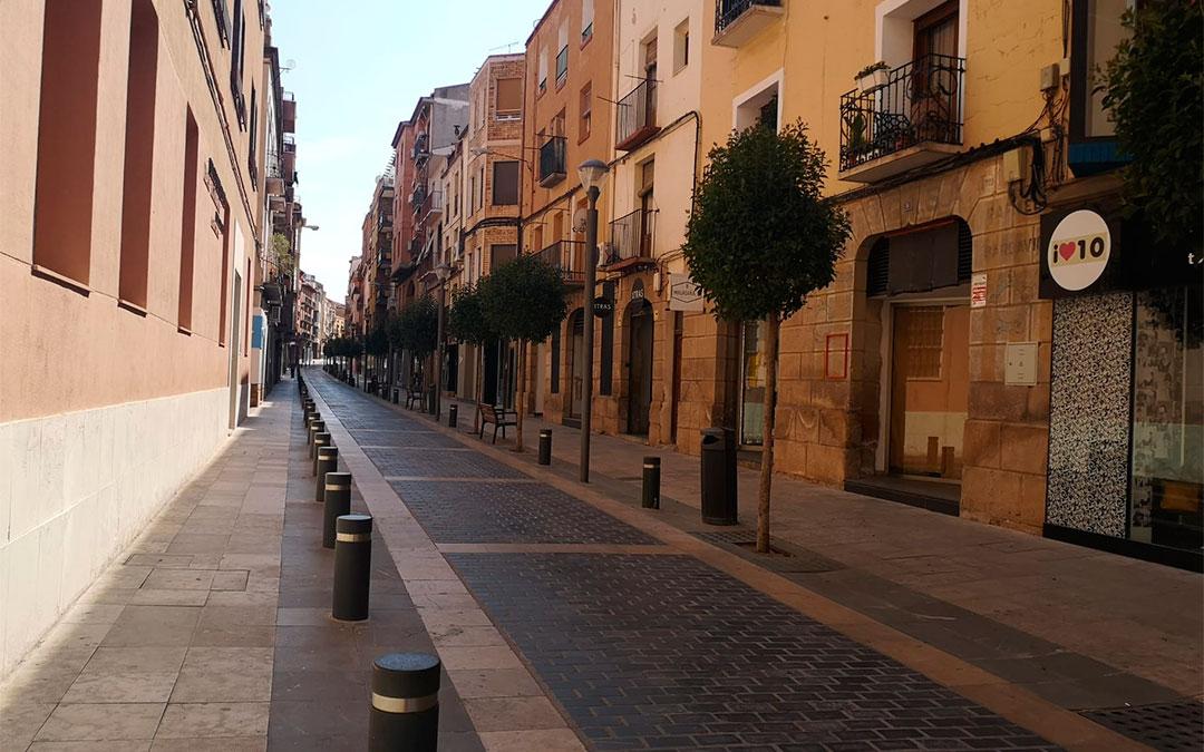 Imagen de archivo de la calle Blasco de Alcañiz./ L.C.