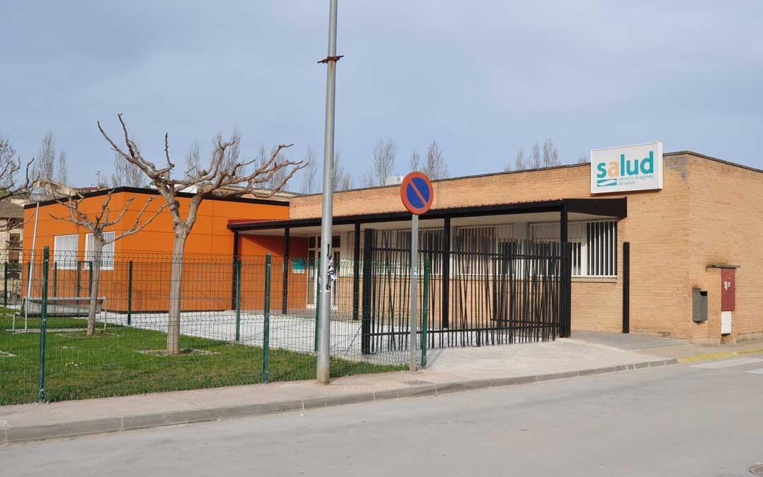Imagen del exterior del Centro de Salud de Valderrobres.