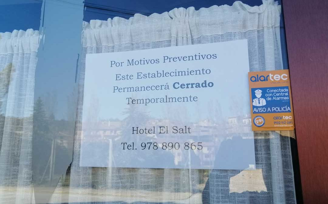 Los hoteles tienen menos de una semana para cerrar sus puertas