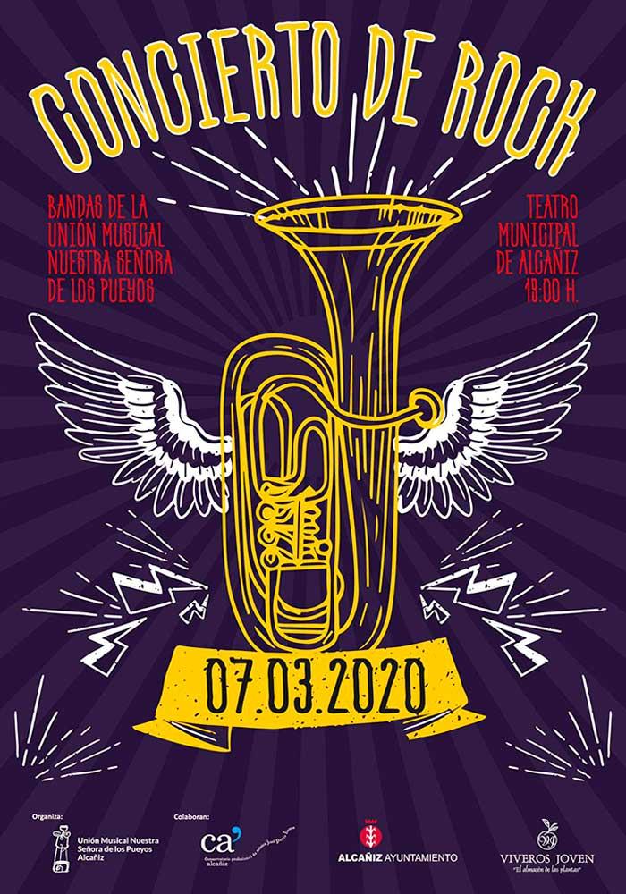 Concierto de Rock de la Banda Sinfónica Unión Musical Nuestra Señora de los Pueyos