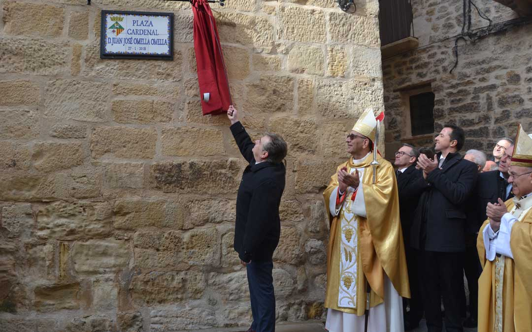 El cardenal Omella mantiene una estrecha vinculación con el Bajo Aragón Histórico. En la imagen, en su localidad natal, Cretas.