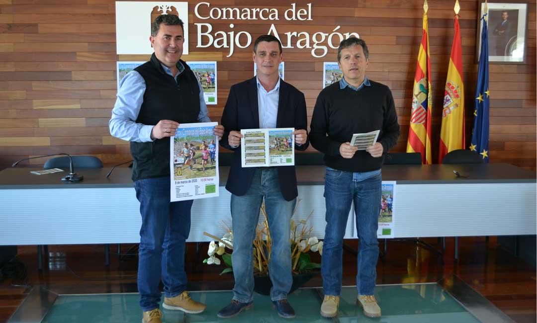 La Ginebrosa acoge el domingo el Cross Comarca Bajo Aragón