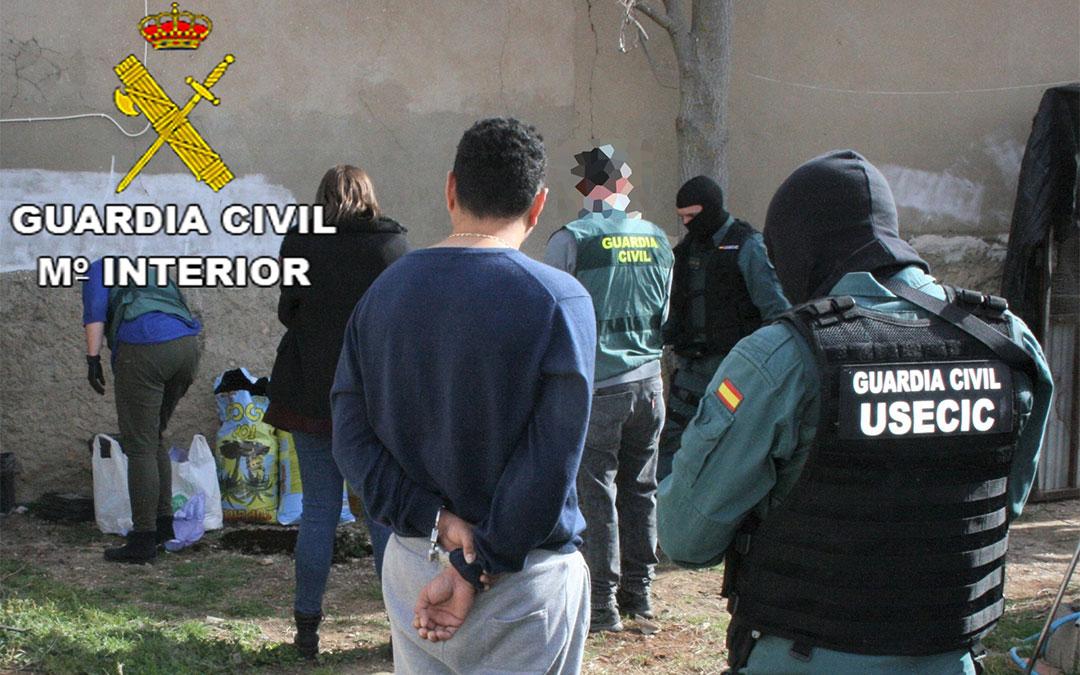 La Guardia Civil ha detenido a once personas./ Guardia Civil