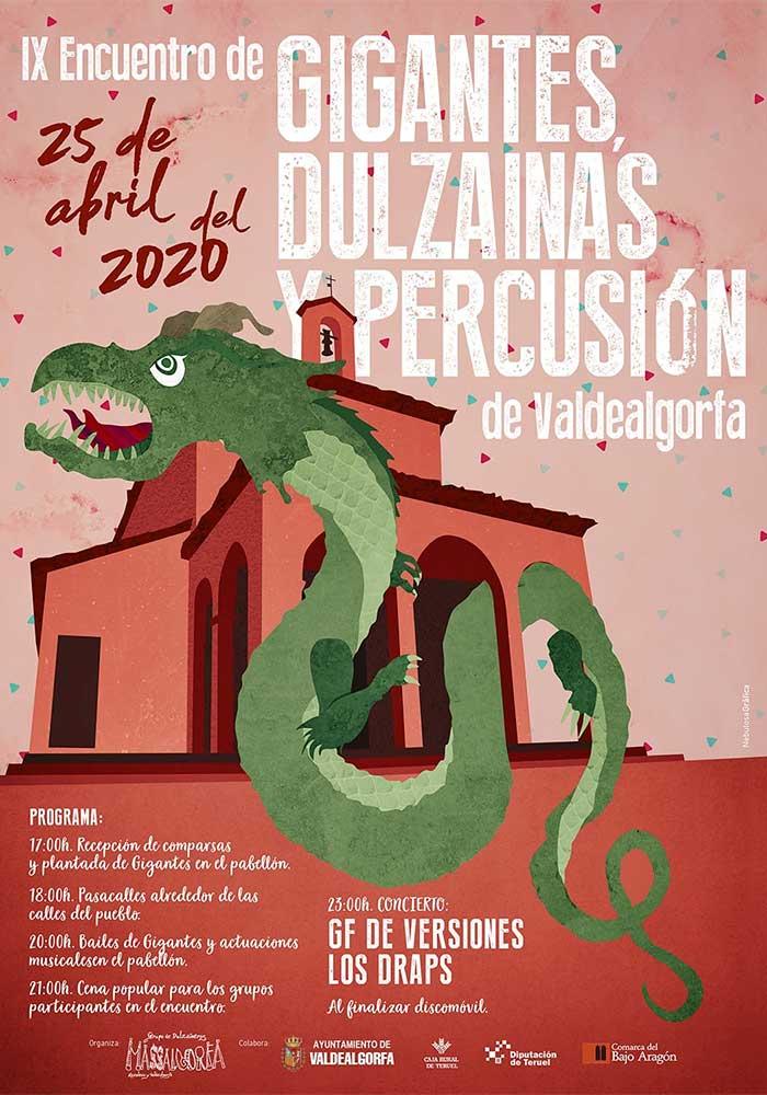 IX Encuentro de Gigantes, Dulzainas y Percusión de Valdealgorfa