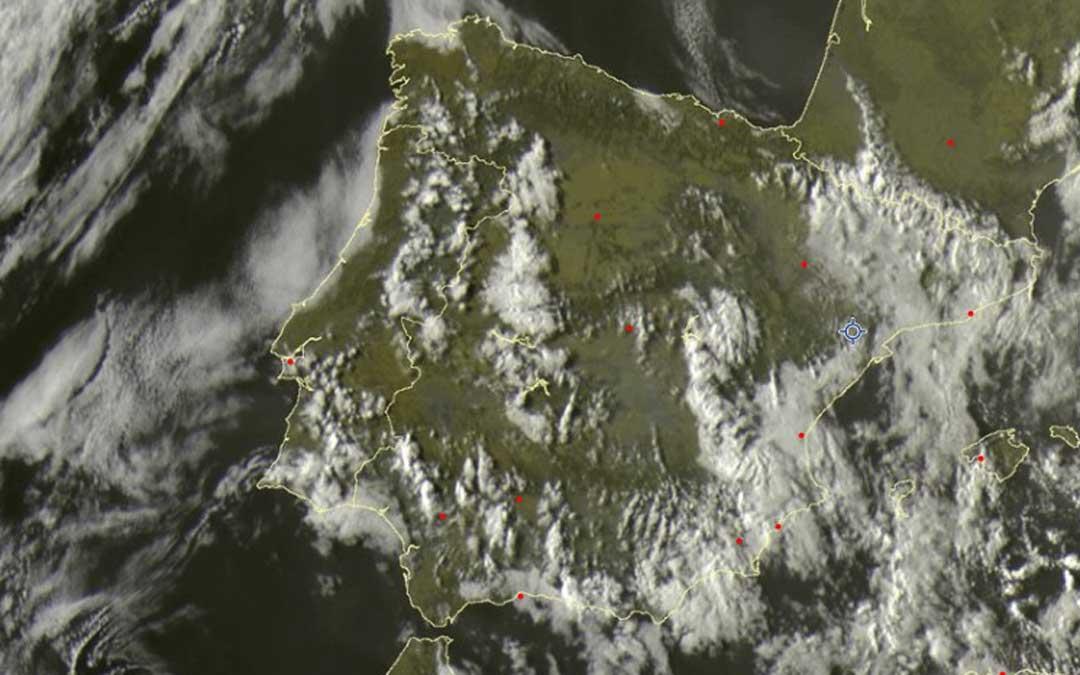 Imagen de satélite. Sat24.