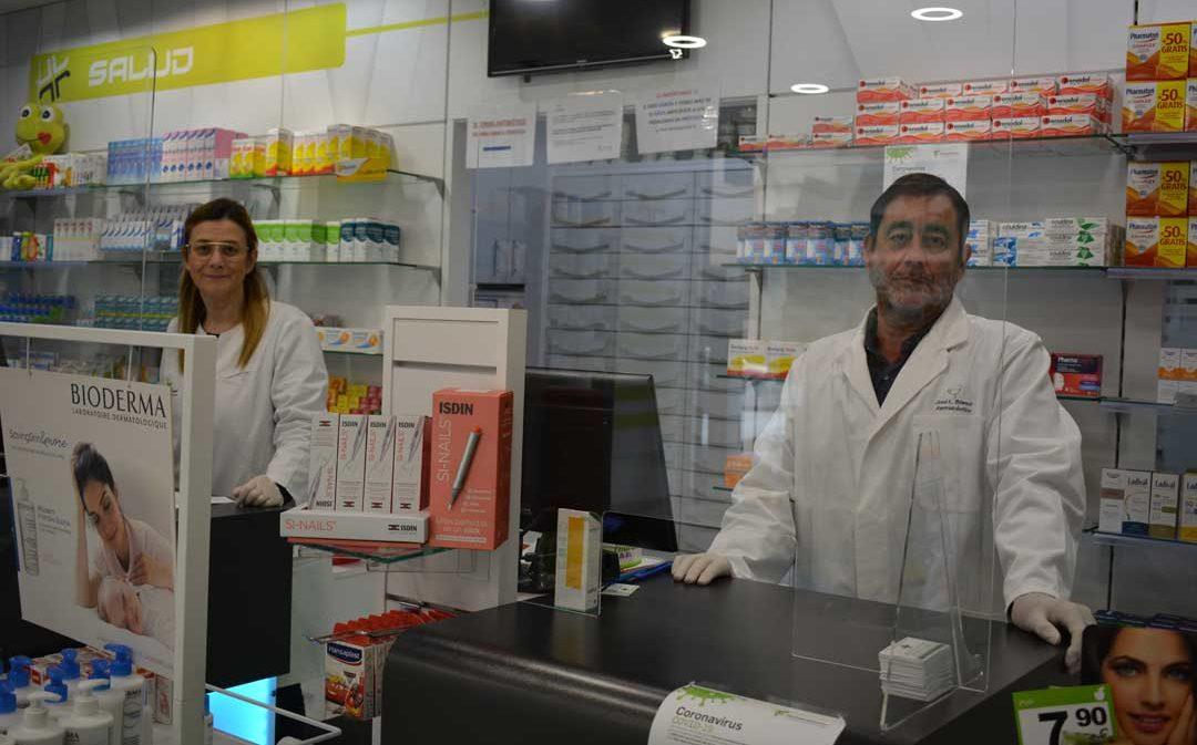 Las farmacias, personal sanitario a pie de calle en pleno estado de alarma