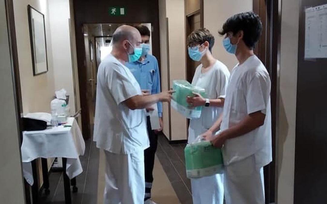 Imagen de archivo del Hotel Ciudad de Alcañiz cuando recibió los primeros pacientes