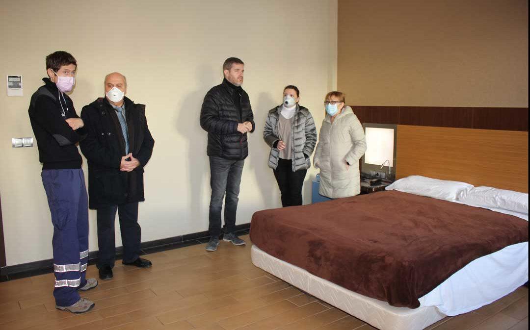 Alcañiz implanta el primer centro medicalizado de Aragón para aliviar la saturación del Hospital