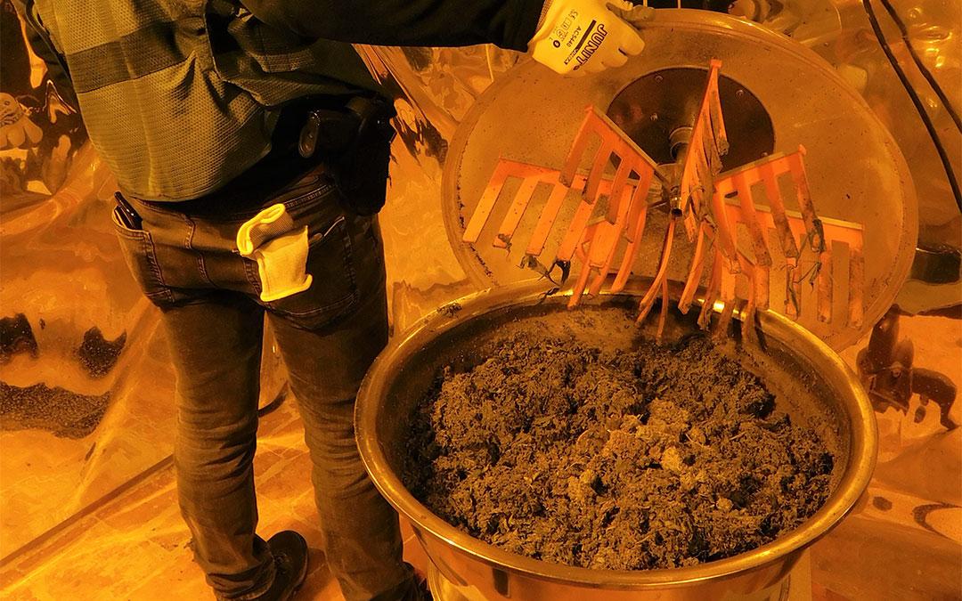 Se han intervenido elementos para la elaboración y distribución de la marihuana./ Guardia Civil