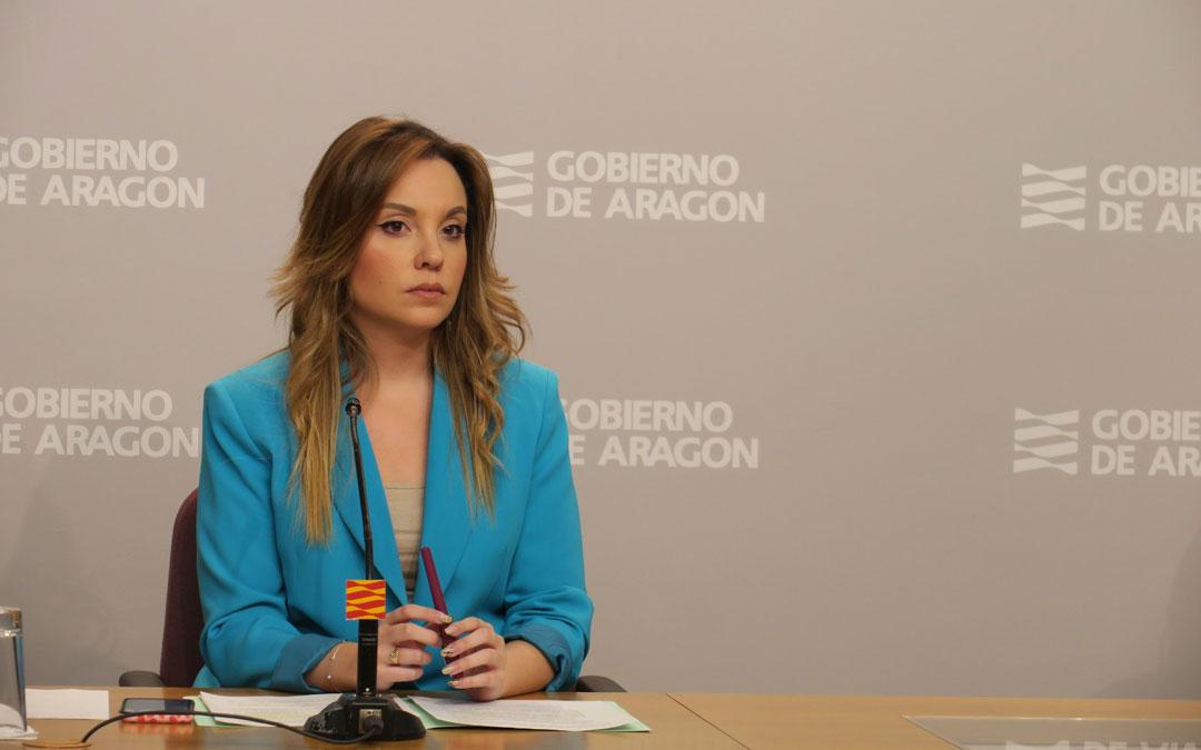 Maru Díaz, consejera de Ciencia, Universidad y Sociedad del Conocimiento de la DGA.