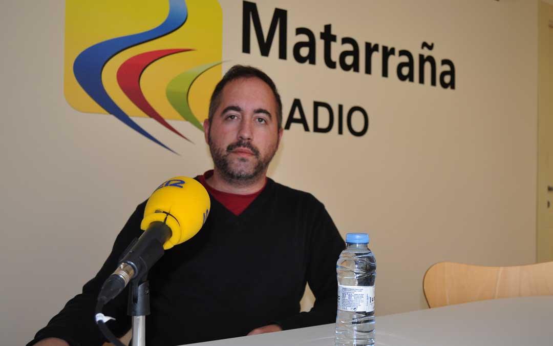 Javier de Luna, director de Matarraña Radio.