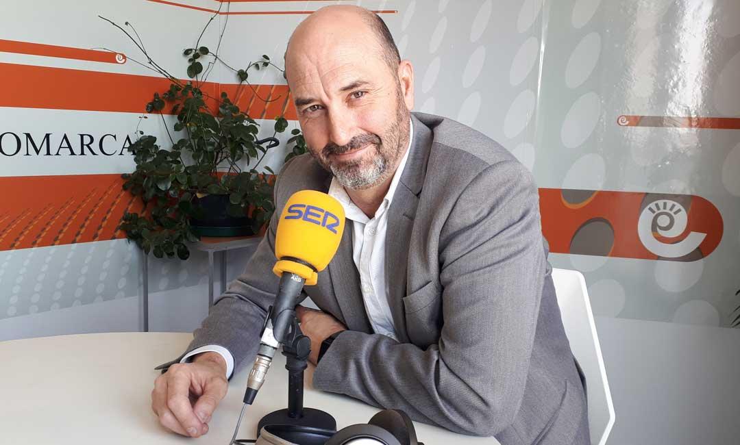 El director del Parador de Alcañiz, Alberto Hernández