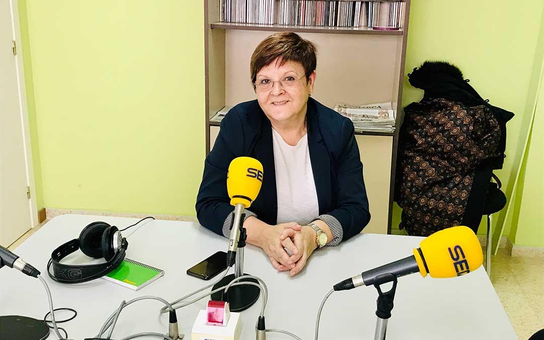 Pilar Mustieles es alcaldesa de Caspe y diputada provincial de la DPZ.
