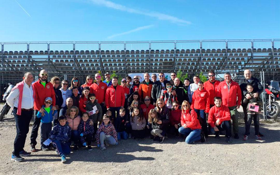 Integrantes del Club Motociclista de Alcañiz./ Motorland