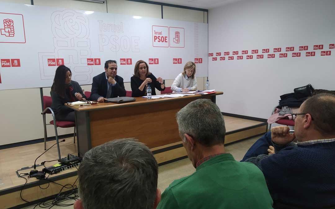 La Comisión Ejecutiva Provincial del PSOE de la provincia de Teruel