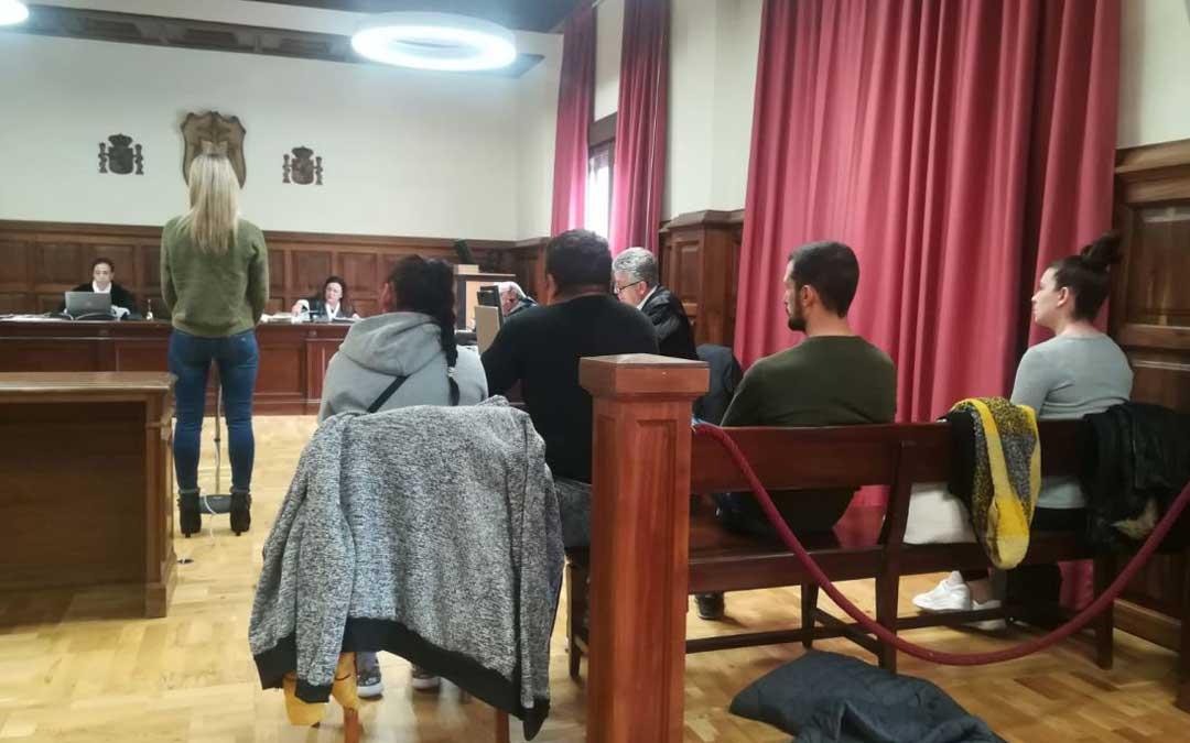 Juicio por el caso de Puerto Calanda en Teruel en marzo de 2020./ Heraldo