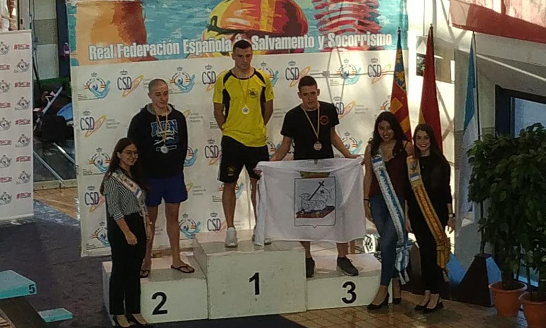 El andorrano Carlos González consigue un bronce en el nacional de salvamento y socorrismo en piscina