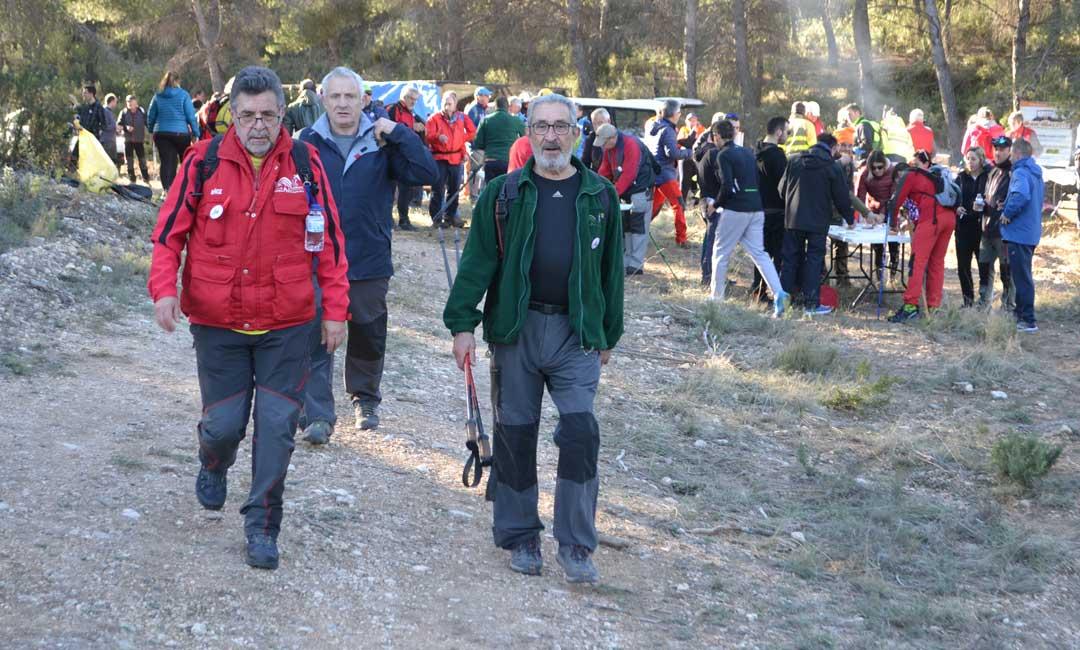 La 3ª Marcha Senderista Villa de Andorra reúne a 510 participantes