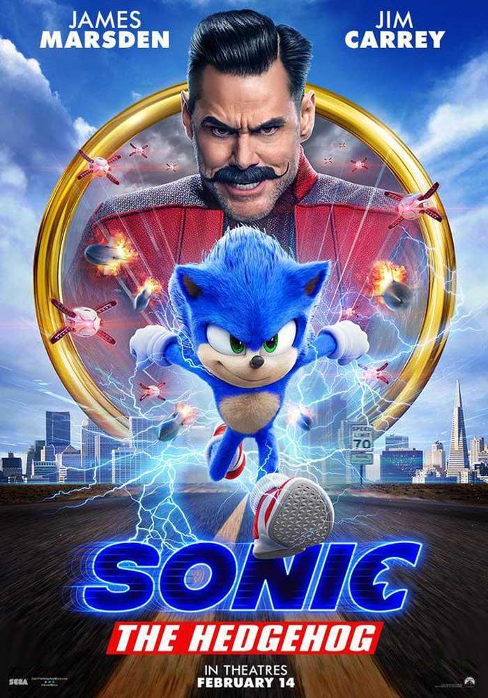 Cartelera en Alcorisa: Sonic: la película