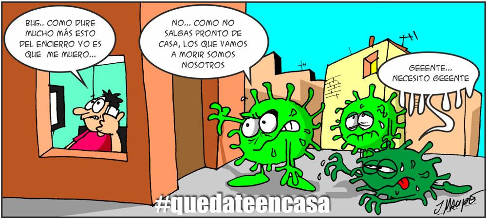 Humor gráfico - Coronavirus