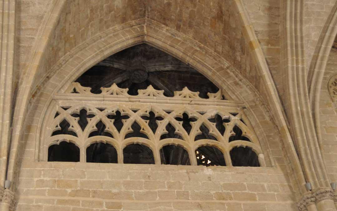 El pasadizo permitirá acceder a la tribuna del templo parroquial.