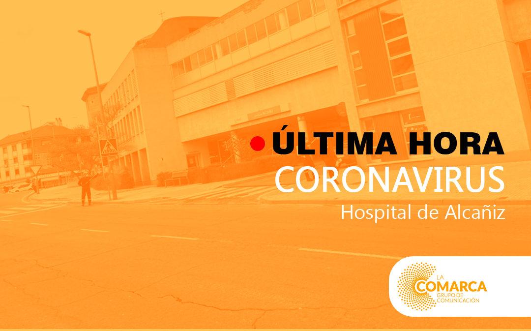 Ascienden a 40 los pacientes ingresados por coronavirus en el Hospital de Alcañiz