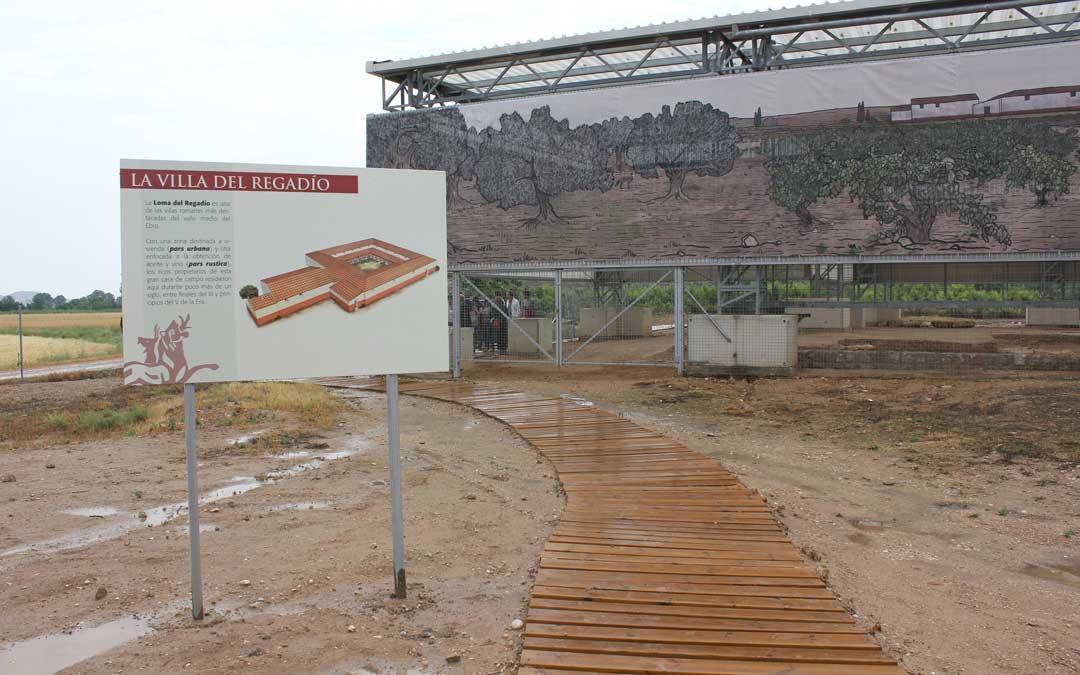 Imagen de archivo del yacimiento romano que seguirá abierto a visitas en cuanto se recupere la normalidad. / La Comarca