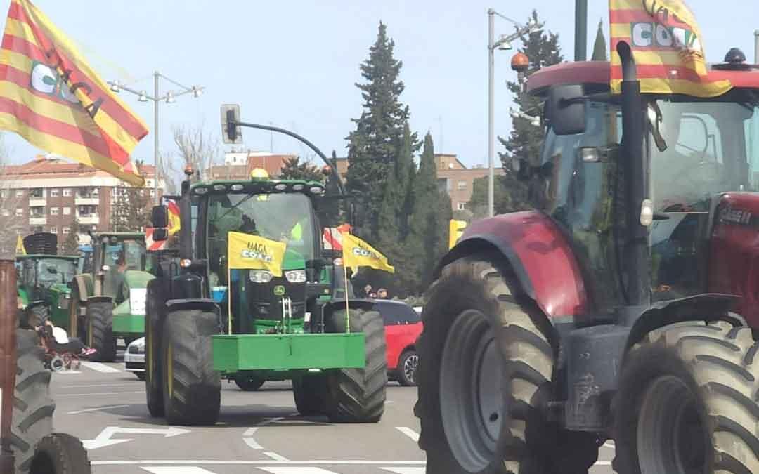 Los sindicatos agrarios se concentrarán el 22 de abril por una PAC justa