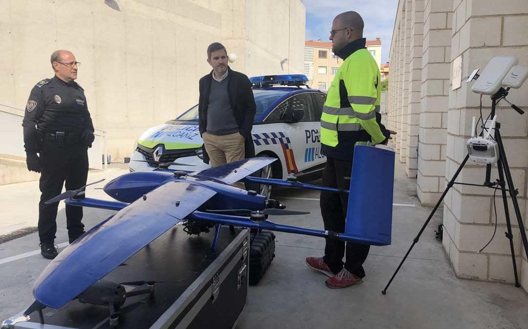 Tres drones y controles de los suministros de las segundas residencias para evitar desplazamientos en Alcañiz