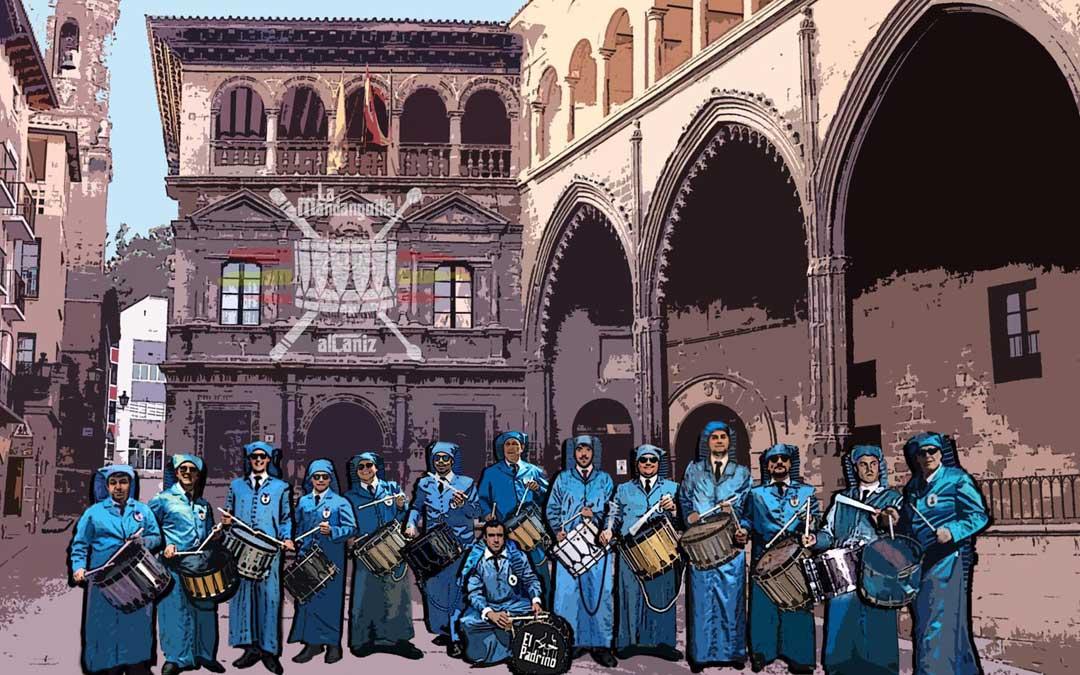 La Mandanguilla son un grupo de amigos de diferentes edades y cuadrillas a los que les unió su pasión por el tambor y la Semana Santa