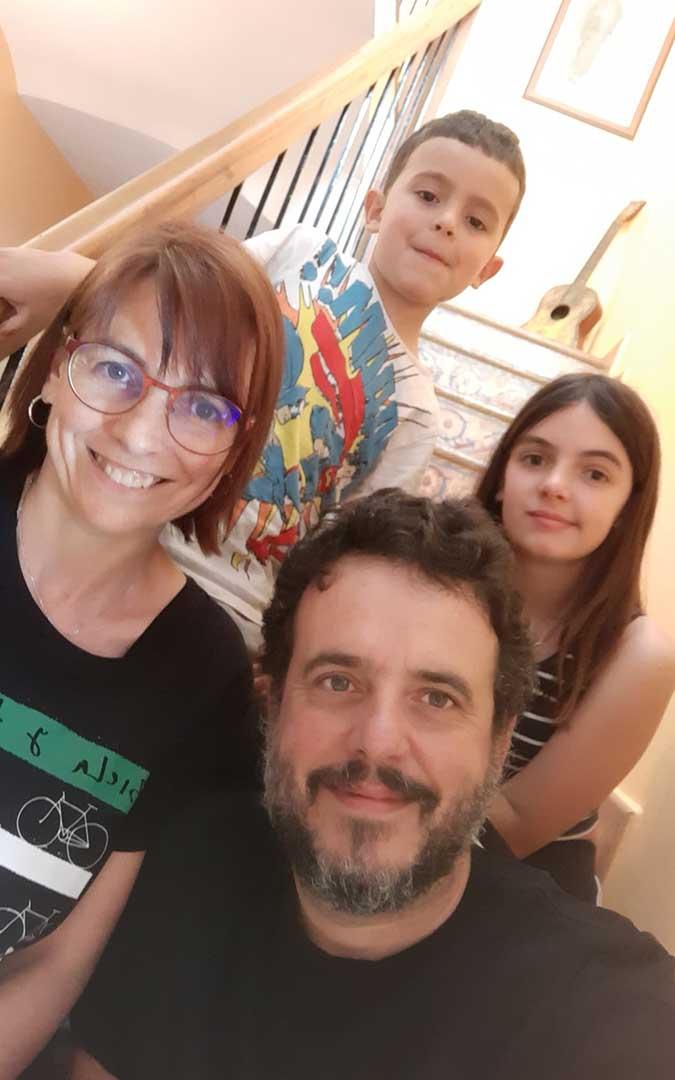 Esta familia de Andorra también se ha apuntado a participar e intentar conquistar la cima./
