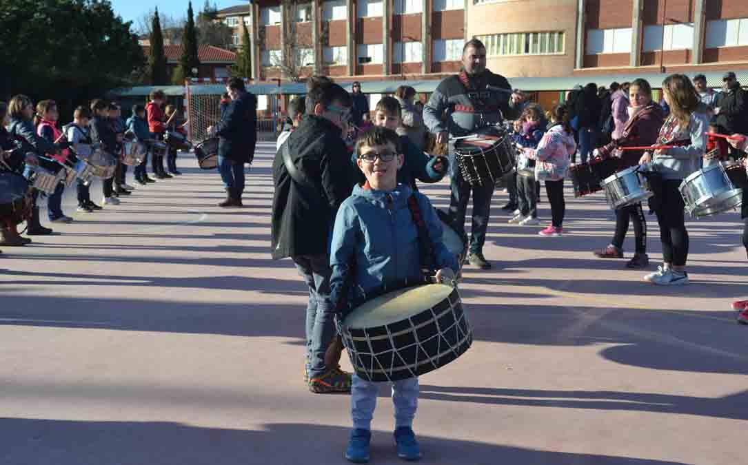 Ensayos de las Escuela del Tambor de Andorra este mes de marzo. M.Q.