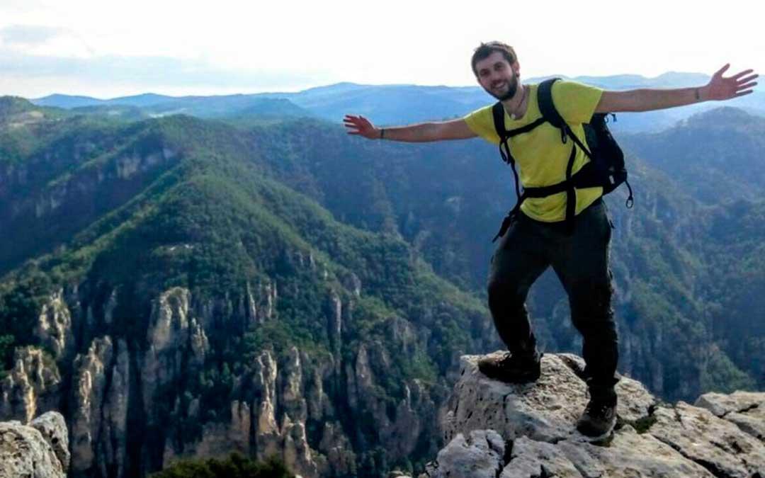 Javier Arias es uno de los empresarios de turismo activo a través de su empresa Matarraña Aventura.