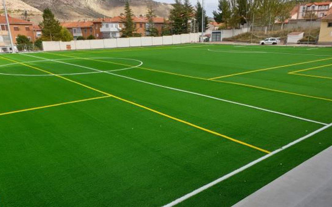 Utrillas finaliza su gran complejo deportivo-formativo La Vega