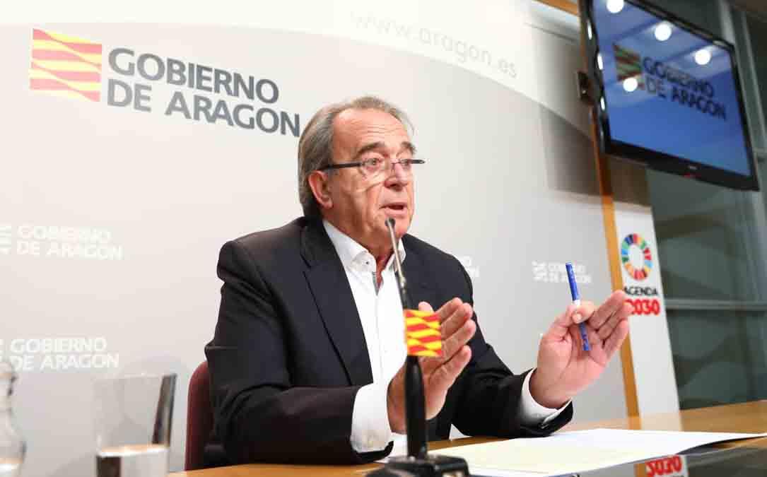 Carlos Pérez durante la rueda de prensa de este miércoles