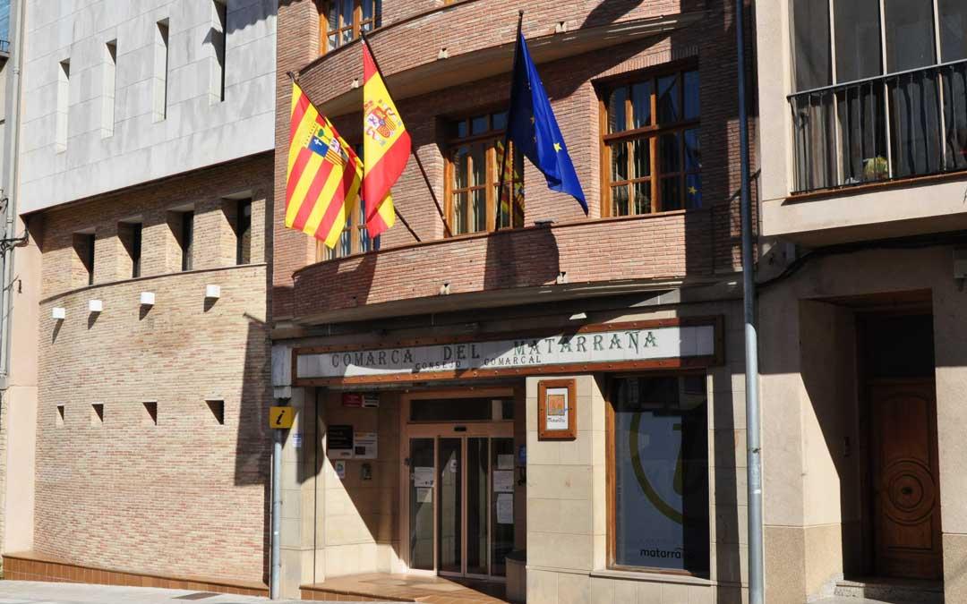 Imagen de la sede de la comarca del Matarraña en Valderrobres.
