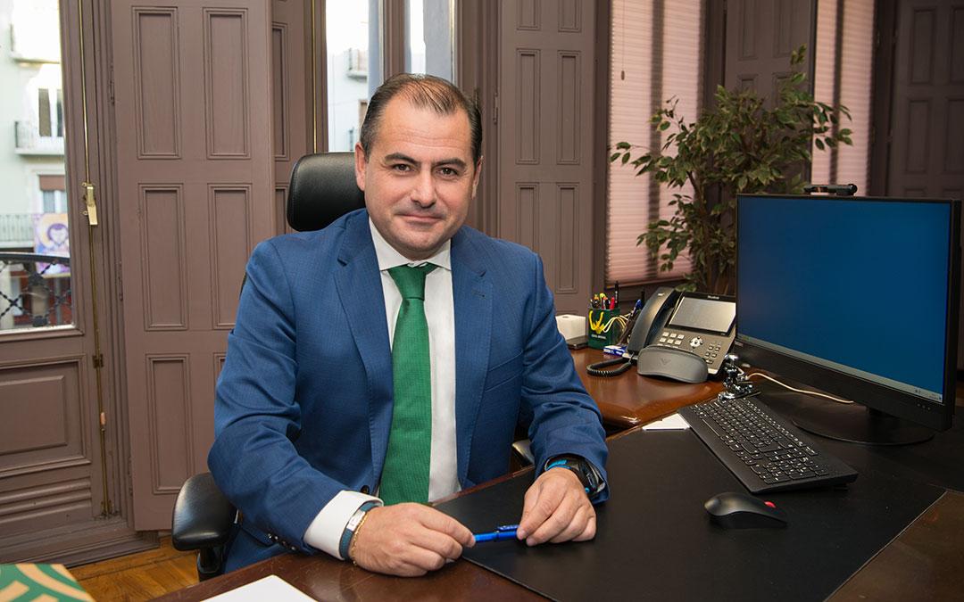 David Gutiérrez, director general de Caja Rural de Teruel./ Caja Rural de Teruel