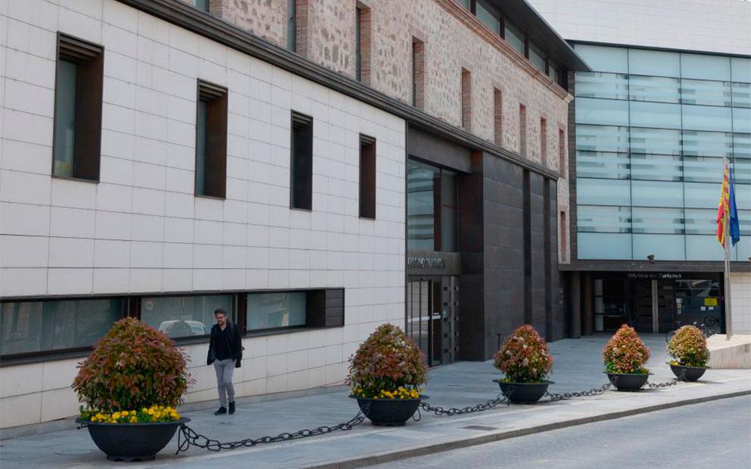 Delegación Territorial de la DGA en Teruel./ Jorge Escudero-Heraldo