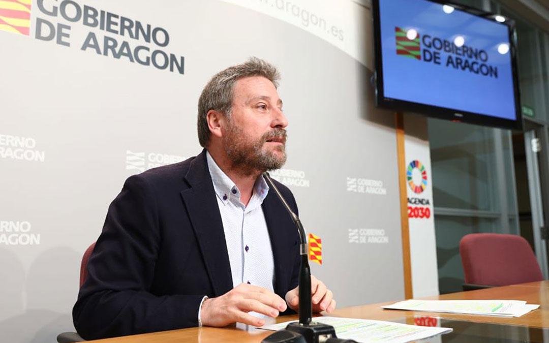José Luis Soro, consejero de Vertebración del Territorio, Movilidad y Vivienda de la DGA.
