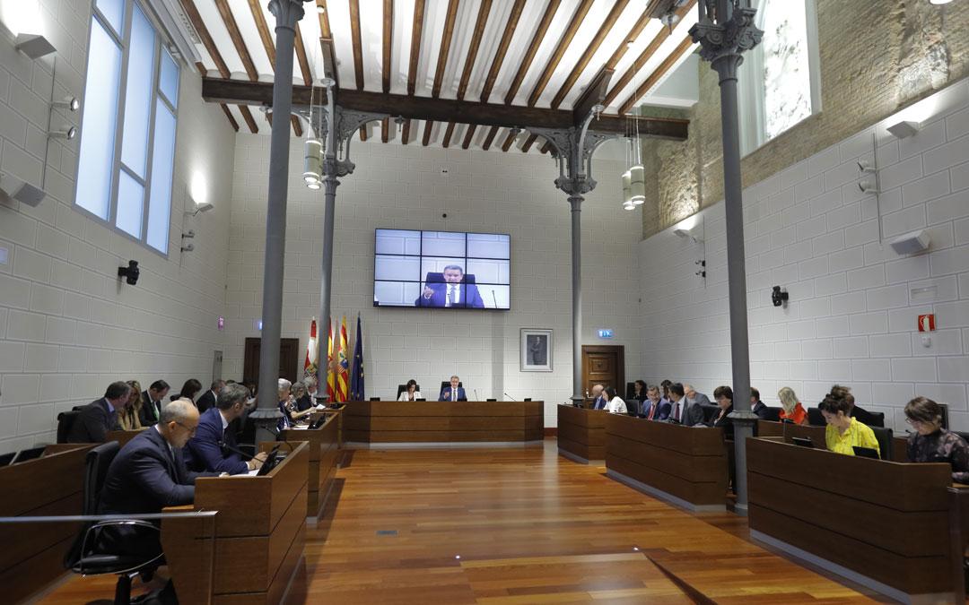 Pleno Diputación Provincial de Zaragoza./LA COMARCA
