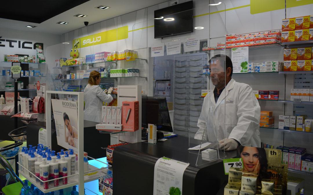 Las farmacias entregarán medicamentos hospitalarios./I.M.