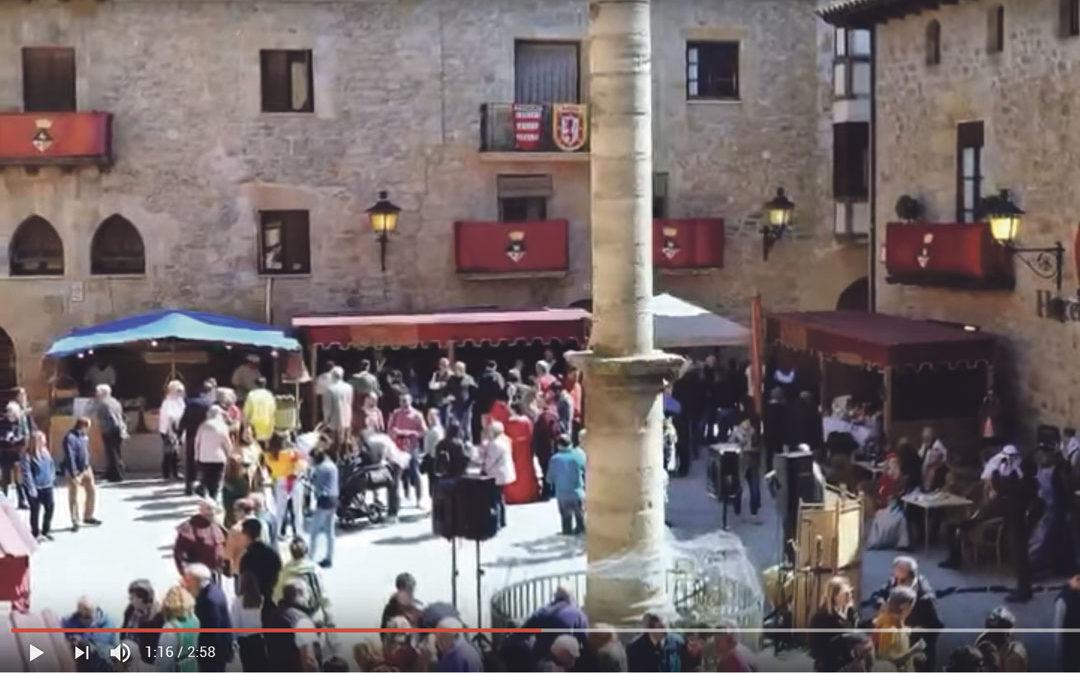¡Un brindis en honor a la Feria del Vino de Cretas y el Mercado Medieval!