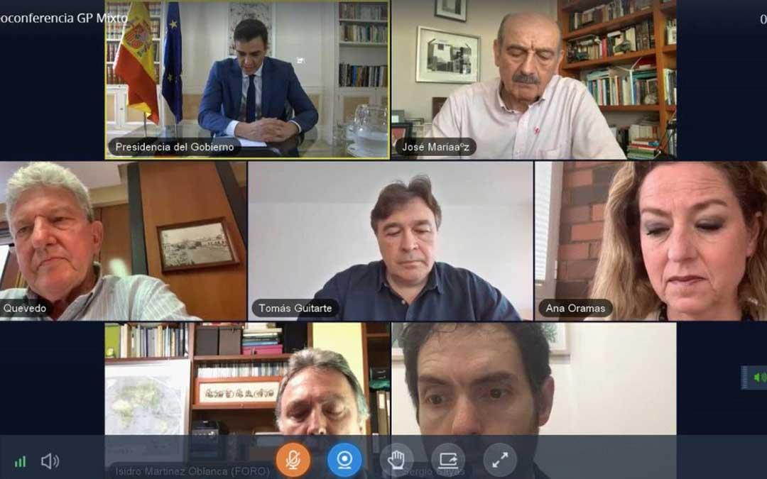Reunión de Sánchez con el Grupo Mixto este viernes