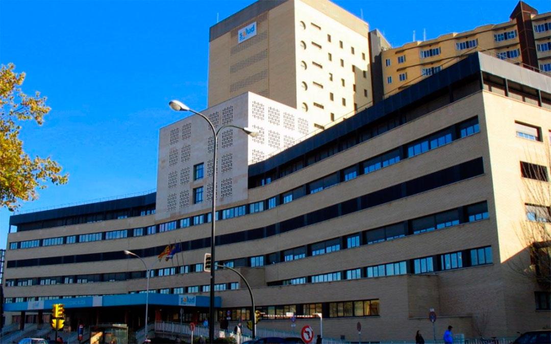 Hospital Clínico Universitario Lozano Blesa de Zaragoza./ DGA