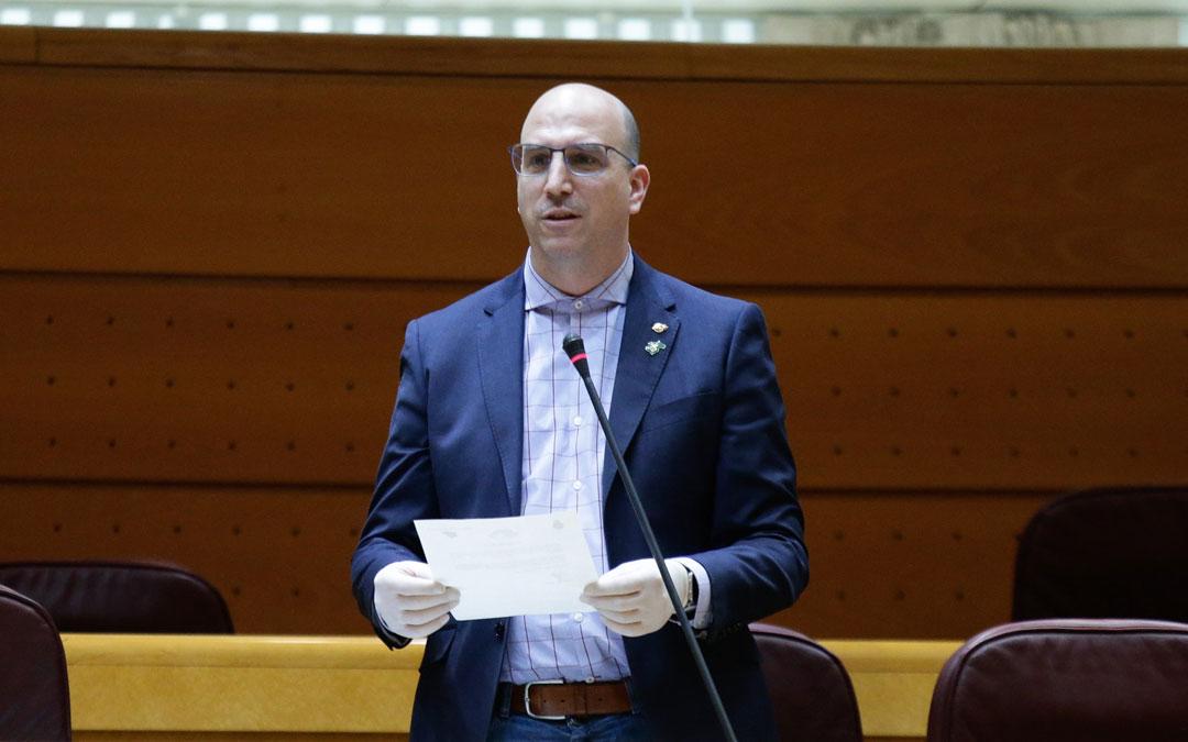 Joaquín Egea en el Senado